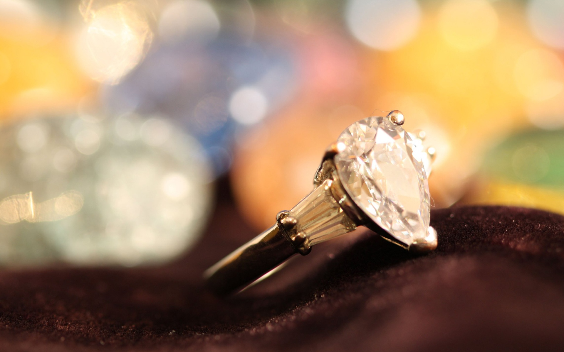 Diamond Engagement Ring Hd Wallpapers Beautiful Desktop Background Images Widescreen Thangals Jewellery